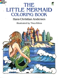 Little Mermaid - Coloring Book