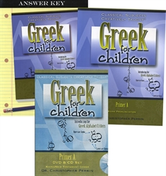 Greek for Children Primer A - Bundle