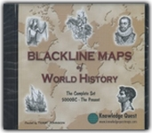 Blackline Maps of World History - Complete Set CD-ROM
