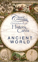 Classical Conversations Ancient World - History Cards