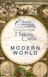 Classical Conversations Modern World - History Cards