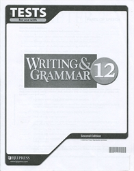 Writing & Grammar 12 - Tests (old)