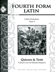 Fourth Form Latin - Quizzes and Tests