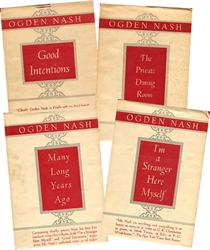 Ogden Nash Set - 4 Volumes