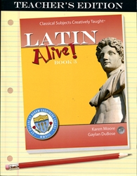 Latin Alive! Book 3 - Teacher's Edition