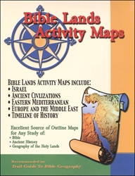 Bible Lands Activity Maps - Exodus Books