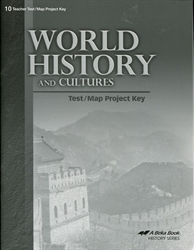 World History and Cultures - Test/Map Project Key