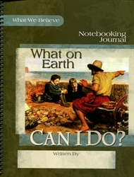 What on Earth Can I Do? - Notebooking Journal