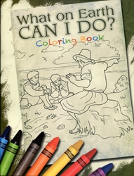 What on Earth Can I Do? - Coloring Book