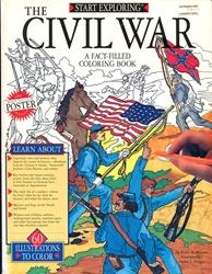 Civil War - Coloring Book