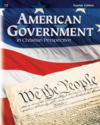 American Government - Teacher Guide with Curriculum