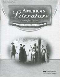 American Literature - Test/Quiz Book