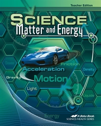 Science: Matter and Energy - Teacher Edition