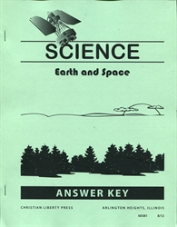 Science: Earth & Space - CLP Answer Key