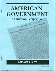American Government - CLP Answer Key
