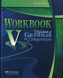 Workbook V - Teacher Key