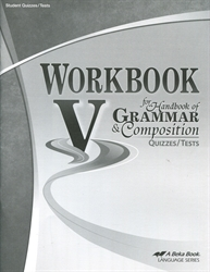 Workbook V - Test/Quiz Book