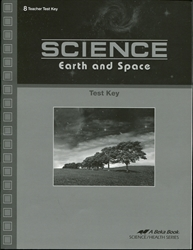 Science: Earth and Space - Test Key