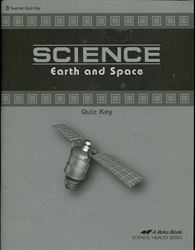 Science: Earth and Space - Quiz Key