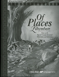 Of Places - Quiz/Test Key