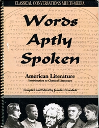 Words Aptly Spoken - American Literature (old)
