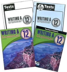 BJU Writing & Grammar 12 - Home School Kit