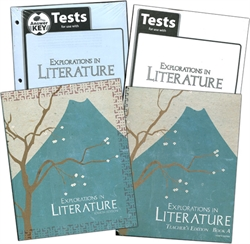 BJU Explorations in Literature - Home School Kit