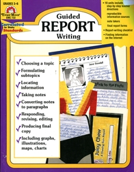 Guided Report Writing