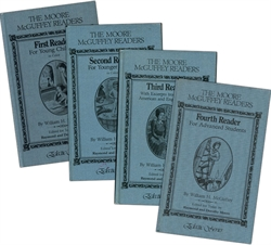 Moore McGuffey Readers - 4-Volume Set