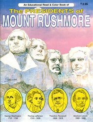 Presidents of Mount Rushmore - Coloring Book