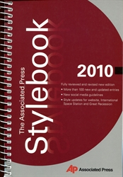 Associated Press Stylebook 2010
