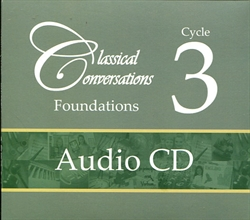 Classical Conversations Cycle 3 Audio CDs