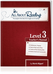 All About Reading Level 3 - Teacher Manual