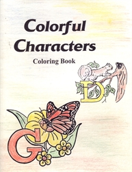 Colorful Characters - Coloring Book
