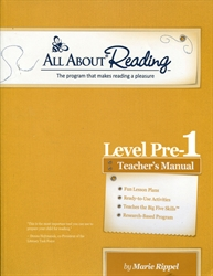 All About Reading Pre-Level 1 - Teacher's Manual