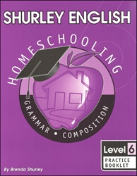 Shurley English Level 6 - Practice Booklet - Exodus Books