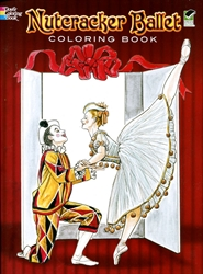 Nutcracker Ballet Coloring Book