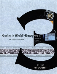 Studies in World History Volume 3 - Student Edition