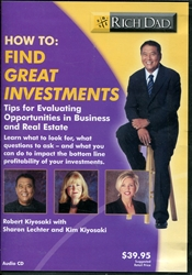 How To: Find Great Investments - Audio CD
