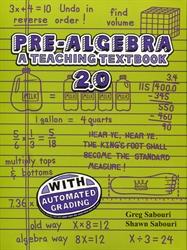Teaching Textbooks Pre-Algebra - CDs only