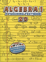 Teaching Textbooks Algebra 1 - CDs only