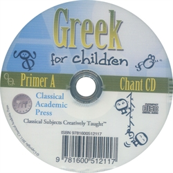 Greek for Children Primer A - Chant CD