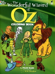 Wonderful Wizard of Oz - Coloring Book