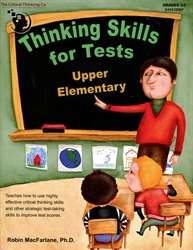 Thinking Skills for Tests: Upper Elementary