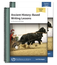 Ancient History-Based Writing Lessons - Set