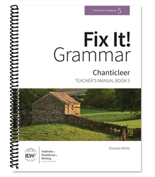 Fix It! Grammar Book 5 - Teacher's Manual