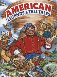 American Legends and Tall Tales - Coloring Book