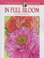 Creative Haven In Full Bloom - Coloring Book