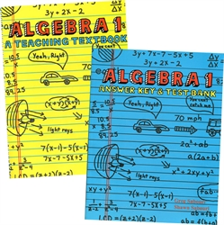 Teaching Textbooks Algebra 1 - Textbook & Answer Key (old)