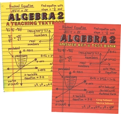 Teaching Textbooks Algebra 2 - Textbook & Answer Key (old)